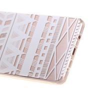 Miffs ultratenký gelový obal na Samsung Galaxy A3 (2016) - geo tvary - 3/4