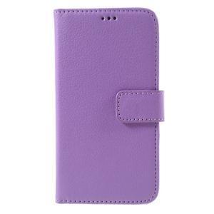 Peněženkové pouzdro na mobil Samsung Galaxy J3  (2016) - fialové - 3