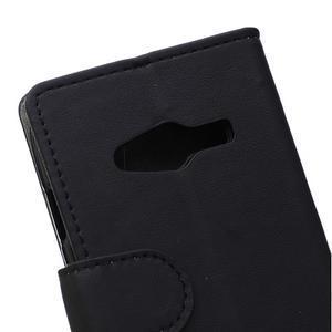 Wall peněženkové pouzdro na Samsung Galaxy Trend 2 Lite - černé - 3