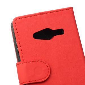 Wall peněženkové pouzdro na Samsung Galaxy Trend 2 Lite - červené - 3