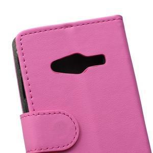 Wall peněženkové pouzdro na Samsung Galaxy Trend 2 Lite - rose - 3