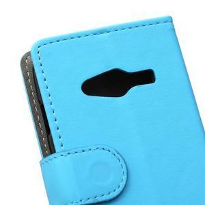 Wall peněženkové pouzdro na Samsung Galaxy Trend 2 Lite - modré - 3