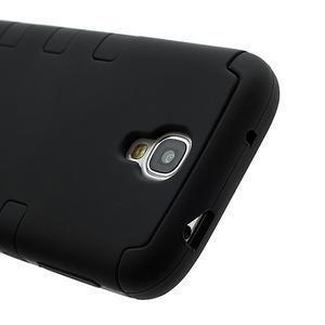 Extreme odolný gelový obal 2v1 na Samsung Galaxy S4 - černý - 3