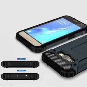 Armory odolný obal na mobil Samsung Galaxy J1 (2016) - tmavěmodrý - 3