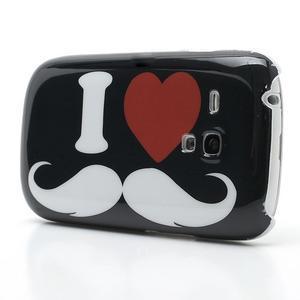 Plastový obal na Samsung Galaxy S3 mini - I love Moustache - 3