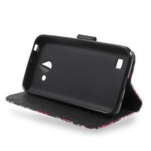 Stylové pouzdro na mobil Huawei Ascend Y550 - kouzelní motýlci - 3