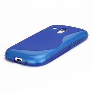 Modré gelové pouzdro pro Samsung Galaxy S3 mini /i8190 - 3