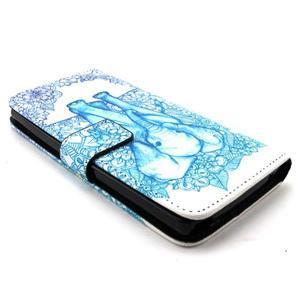 Peneženkové pouzdro na mobil LG G4c - slon - 3