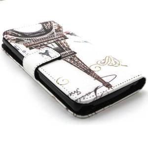Peneženkové pouzdro na mobil LG G4c - Eiffelova věž - 3