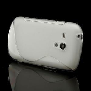 Transparentní gelové pouzdro pro Samsung Galaxy S3 mini /i8190 - 3