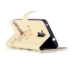 Emotive PU kožené pouzdro na mobil Honor 7 Lite - kočka - 3