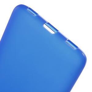 Matný gelový obal na mobil Honor 7 Lite - modrý - 3