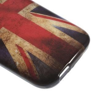 Gelový kryt na HTC One mini 2 - UK vlajka - 3