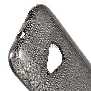 Broušený gelový obal na HTC One mini 2 - černý - 3