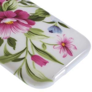 Gelový kryt na HTC One mini 2 - květiny - 3