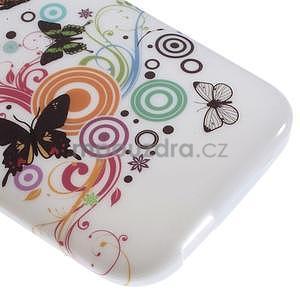 Gelový kryt na HTC One mini 2 - motýlkové - 3
