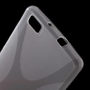 Gelový obal na Huawei Ascend P8 Lite - transparentní - 3