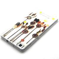 Transparentní gelový obal na Huawei Ascend P8 Lite - dream - 3/4