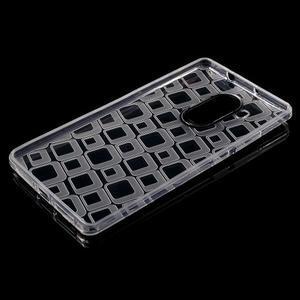 Square gelový obal na Huawei Mate 8 - transparentní - 3
