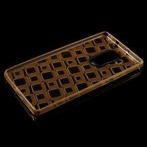 Square gelový obal na Huawei Mate 8 - zlatý - 3