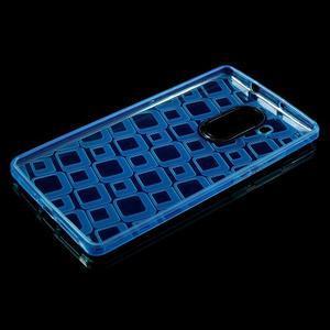 Square gelový obal na Huawei Mate 8 - modrý - 3