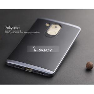 Odolný obal 2v1 s výstuhami na Huawei Mate 8 - šedý - 3