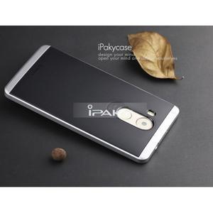 Odolný obal 2v1 s výstuhami na Huawei Mate 8 - stříbrný - 3