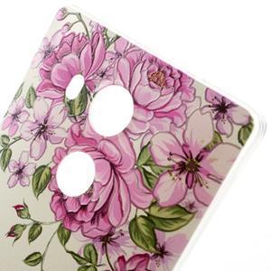 Softy gelový obal na mobil Huawei Mate 8 - růže - 3