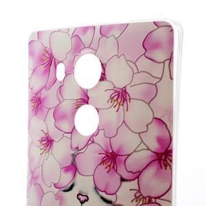 Softy gelový obal na mobil Huawei Mate 8 - kvetoucí švestka - 3