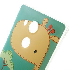 Softy gelový obal na mobil Huawei Mate 8 - žirafa - 3