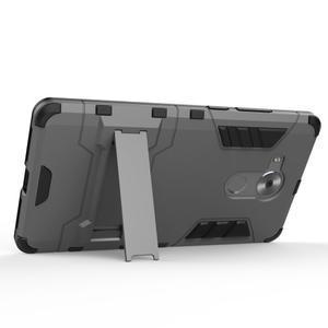 Armor odolný kryt na mobil Huawei Mate 8 - šedomodrý - 3
