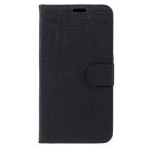 Clothy PU kožené pouzdro na Huawei Mate 8 - černé - 3