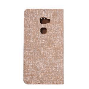 Style knížkové pouzdro na mobil Huawei Mate S - oranžovohnědé - 3