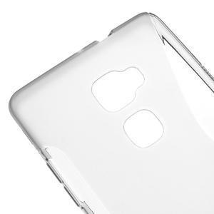 S-line gelový obal na mobil Huawei Mate S - šedý - 3