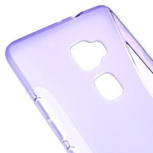 S-line gelový obal na mobil Huawei Mate S - fialový - 3