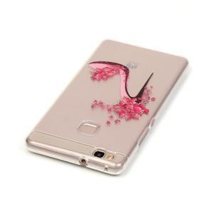 Průhledný gelový obal na mobil Huawei P9 Lite - pekelný střevíc - 3
