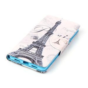 Patter PU kožené pouzdro na mobil Huawei P9 Lite - Paris - 3