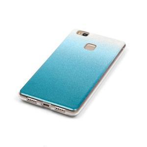 Gradient třpytivý gelový obal na Huawei P9 Lite - světlemodrý - 3