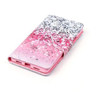 Patter PU kožené pouzdro na mobil Huawei P9 Lite - gradient - 3