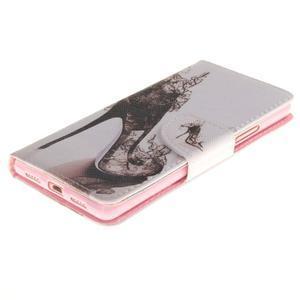 Lethy knížkové pouzdro na telefon Huawei P9 Lite - pekelný střevíček - 3