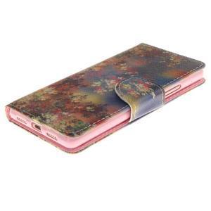 Lethy knížkové pouzdro na telefon Huawei P9 Lite - podzimní zátiší - 3