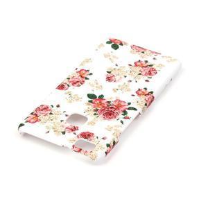 Shelly plastový obal na mobil Huawei P9 Lite - květiny - 3