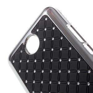 Drahokamový kryt na Huawei Y635 - černý - 3