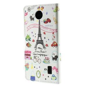 Peněženkové pouzdro Huawei Y635 - Eiffelova věž - 3