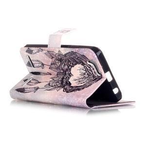 Knížkové pouzdro na mobil Lenovo Vibe K5 / K5 Plus - lapač snů - 3