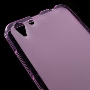 Matný gelový obal na mobil Lenovo Vibe K5 / K5 Plus - růžový - 3