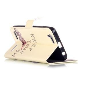 Knížkové pouzdro na mobil Lenovo Vibe K5 / K5 Plus - kočka - 3