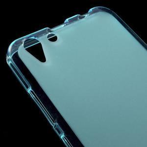 Matný gelový obal na mobil Lenovo Vibe K5 / K5 Plus - modrý - 3