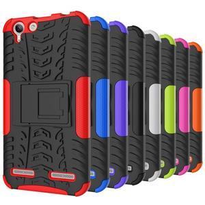 Outdoor odolný obal na mobil Lenovo Vibe K5 / K5 Plus - fialový - 3