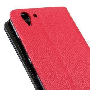 Klopové pouzdro na Lenovo Vibe K5 / K5 Plus - červené - 3